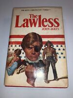 1978 THE LAWLESS BOOK VOLUME 7 BY JOHN JAKES HARDCOVER BOOK CLUB EDITION