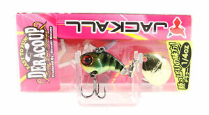 Jackall Deracoup 1/4 oz Spin Tail Sinking Lure HL Gold Gill (2819)