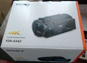 Sony FDR-AX43 UHD 4K Handycam Camcorder, USA Model