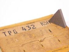 New Surplus 2pcs Kennametal Tpg 432 Grade K5h Carbide Inserts