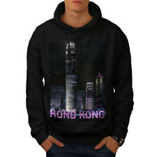 Hong Kong Night Fashion Men Hoodie NEW | Wellcoda