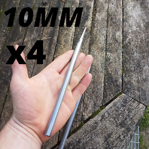 (Set de 4) Aiguille de lancer 10MM de diamètre