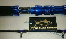 """6'6"""" 15/40 LB Light weight JIGGING Rod Blue titanium oxide Guides NEW #3"""