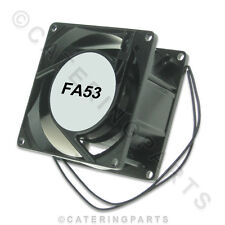 FA53 240v SQUARE AXIAL COOLING FAN MOTOR 80mm x 80mm x 38mm UNIVERSAL FITTING
