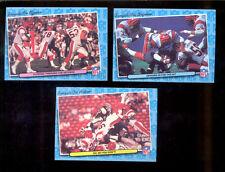 1986 Fleer Cincinnati Bengals Set ANTHONY MUNOZ DAVE RIMINGTON MARCUS ALLEN