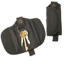 Protec police and securtiy black nylon silent key loop