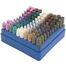 Schleifstifte Set 100 tlg Gummi / Filz / Polierstifte Schleifstein für Dremel
