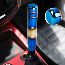 1PCS 18CM NISMO Aluminum Burnt Blue Racing Gear Shift Knob V2 Universal JDM MT