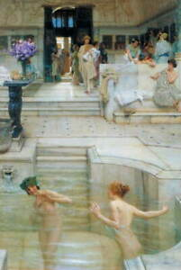 Lawrence Alma Tadema A Favourite Custom Poster Reproduction Giclee Canvas Print