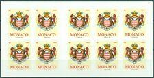 MONACO - N°2676 - Carnet Autoadhésif N°16 de 10 Timbres Neufs // 2009