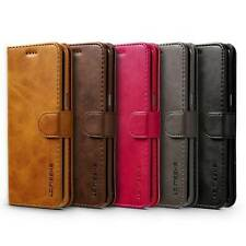 For iPhone 11 8 Plus 7 6s XR XS Leather Flip Case Card Wallet Coin Purse Cover