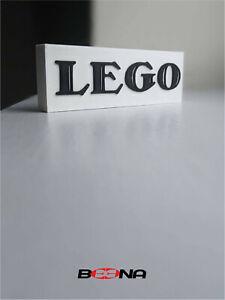 Decorative LEGO self standing logo display (1934 - 1936)