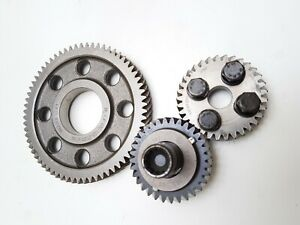 3x gears for oil pump 2.0 tdi 03g103850 03g103305C GENUINE TIMING GEARs cranksha