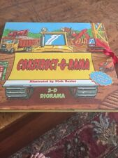 CONSTRUCT-O-RAMA by Lianne McCabe (1999, Hardcover) 3-D Pop Up BOOK Construction