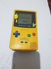 Nintendo Game Boy Color Pokemon Edition Handheld System - Yellow
