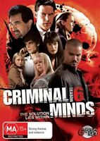 Criminal Minds : Season 6 DVD : NEW