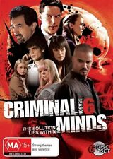Criminal Minds : Season 6 (DVD, 2011, 6-Disc Set) AS NEW PAL REGION 4