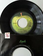 RAVI SHANKAR & Chorus ~ JOI BANGLA,AH BHAGOWAN ~ ORIGINAL 1971 APPLE 45rpm ~ VG