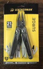 Leatherman 21 Tools Surge Pocket Multitool w/ Premium Leather Sheath 830160 New!