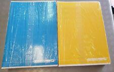 10 Maxi Quaderni Scuola Superiore Quadernoni a quadretti quadri 4mm A4 colorati