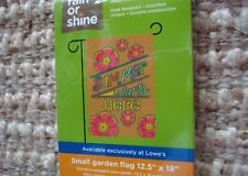 """Summer Starts Here!""Garden Flag,12.5""x18""/ New"