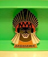 1960's MOHAWK AIRLINES Ramp Agent Hat Badge