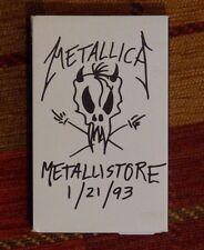 METALLICA metallistore MEGA RARE 1993 ELEKTRA promo tape NEW