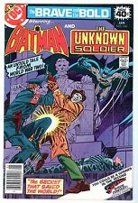 Brave and Bold #146 with Batman & The Unknown Soldier, Near Mint Minus Cond*