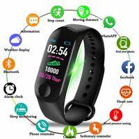 Smart Bracelet Watch Bluetooth Fitness Tracker Health Monitor Multi-Functional