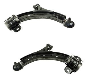 Pair Set 2 Front Lower Suspension Control Arm & Ball Joints Mevotech For Mustang
