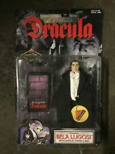 Dracula Bela Lugosi Action Figure with Stand and Bat 1998 NIB Exclusive Premier