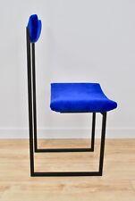 Dining BLUE VELVET Chair TianAnMan upholstery