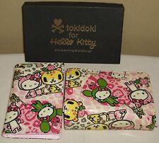 TOKIDOKI x Hello Kitty Card Pass Case Holder & Bi-fold Wallets set Sanrio 2009