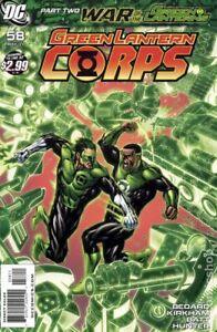 Green Lantern Corps #58A KIRKHAM VF 2011 Stock Image