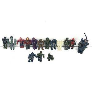 Mega Bloks Construx Halo And Marvel Lot of 15 Figures Lot 4