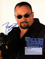 Big Boss Man WWE WWF Autographed Signed 8x10 Photo REPRINT