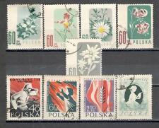 R9000 - POLONIA 1957 - SERIE COMPLETA TEMATICHE - VEDI FOTO