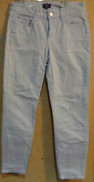"Not Your Daughter's Jeans NYDJ Gray size 2 Clarissa Ankle Stretch 28"" Waist"