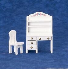 1.24th Scale Desk & Chair, Doll House Miniatures, Furniture