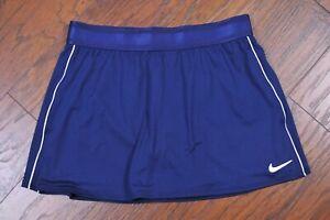 Nike Dri-Fit Tennis Skirt Skort Navy Women's Medium M