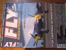 5µ?§ Revue FLY n°166 Plan en encart Old Timers ou XL / BN-2 Islander Extra 260