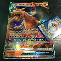 POKEMON JUMBO CHARIZARD GX SM195 OVERSIZED PROMO CARD FULL ART HOLO (BRAND NEW)
