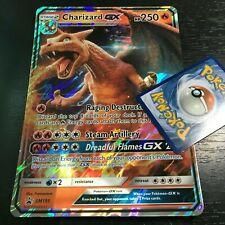 Pokemon Jumbo Charizard Gx Sm195 Oversized Promo Card Full Art Holo (Brand New)