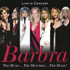 Music The Mem'Ries The Magic - Barbra Streisand (2017, CD NEUF)