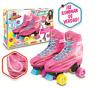 Soy Luna Disney Roller Skates with Light Up Original TV Series Size 36-37/5/24.4