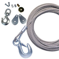 "POWERWINCH CABLE 25' X 7/32"" UNIVERSAL PREMIUM REP"