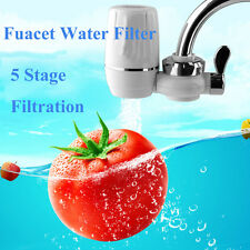 Faucet Water Filter System 5 Stage Filtration Impurity Removal Tap Water Purify
