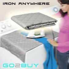 New Ironing Mat Compact Portable Ironing Board Travel Dryer Washer Iron Anywhere
