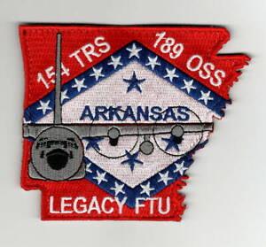 """USAF Patch 154th TRAINING SQDN, C-130H LEGACY FLIGHT TRAINING UNIT, 3.75"""" X 4.5"""""""