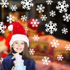 Snowflake Window Clings Christmas & Winter Wall Stickers - Reusable Decorations·
